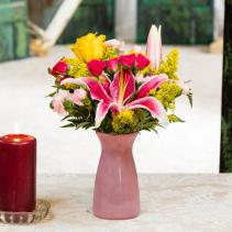 Positive Vibes Vase arrangement