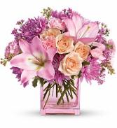 Possibly Pink floral arrangement