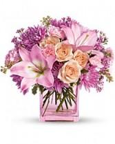 Possibly Pink Flower Arrangement