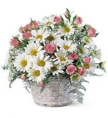 Posy Basket  basket arrangement