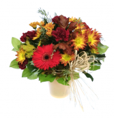 Pot O' Fall Vase Arrangement