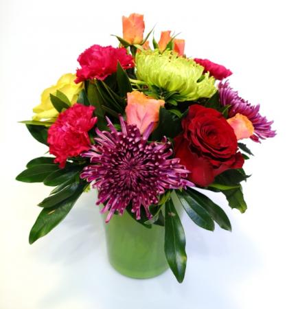 Pot O' Petals Vase Arrangement