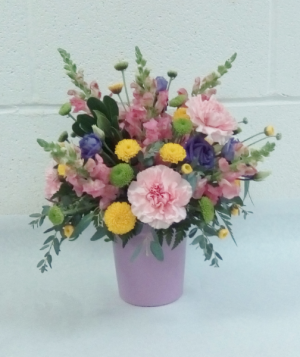 Pot of Pretty Blooms  in Tottenham, ON | TOTTENHAM FLOWERS & GIFTS