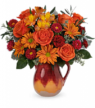 Potomac's  Autumn Glaze Bouquet T21T200B
