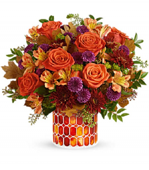 Potomac's Autumn Radiance Bouquet T21T300B in La Plata, MD   Potomac Floral Design Studio