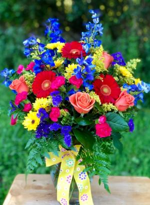 Potomac's Colors of Summer Bouquet  in La Plata, MD | Potomac Floral Design Studio
