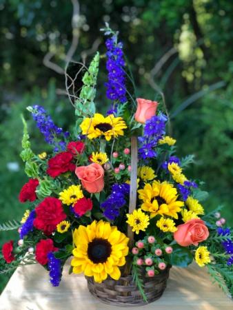 Potomac's Summer's Garden Basket