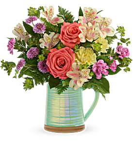 Pour on the Beauty Arrangement in Winnipeg, MB | CHARLESWOOD FLORISTS