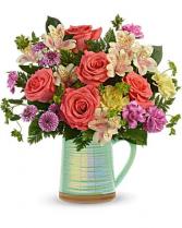 Pour on the Beauty  Flower Arrangement