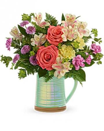 Pour on the Beauty Vase Arrangement