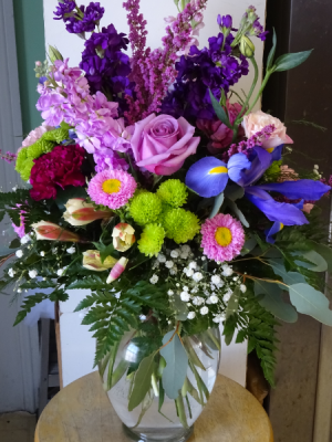 Powerful Pleaser Vase Arrangement  in Montgomery, NY | MONTGOMERY FLORIST