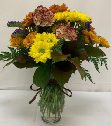 PPCFG Fall Vase Arrangement Fresh Arrangement