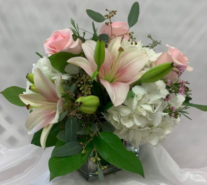 PPCFG Pink Elegance Fresh Arrangement