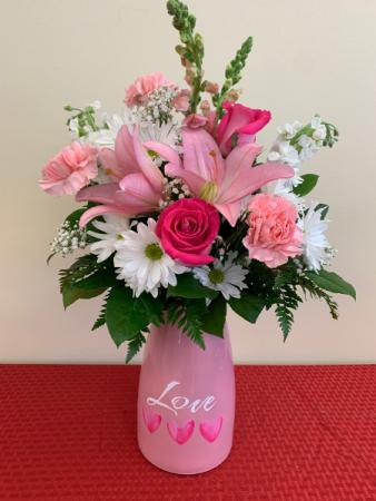 PPCFG Valentine's Special Fresh Arrangement