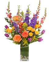 Picturesque Posies Flower Arrangement