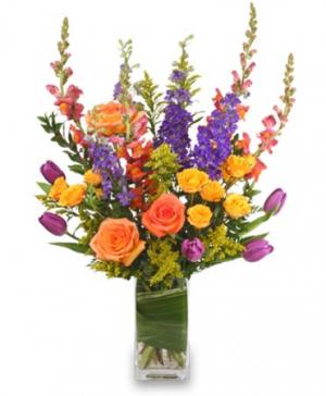Picturesque Posies Flower Arrangement in Powder Springs, GA | PEARTREE OF POWDER SPRINGS / Home.Florist.Gifts