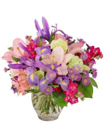 Prancing Lilac Floral Design