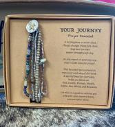 Prayer Bracelet Gray  Gifts