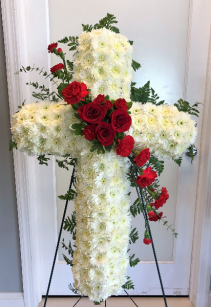 PRAYERS & LOVE FUNERAL CROSS