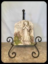PRAYING ANGEL GARDEN STONE