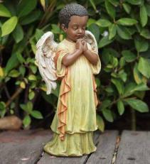 Praying Angel Statute