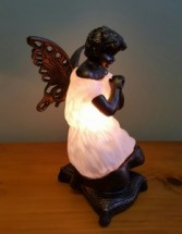 Praying Angel Memory Lamp