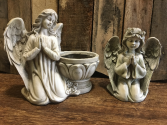 PRAYING ANGELS SYMPATHY ARRANGEMENT