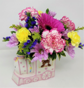 Precious Express Baby Girl Arrangement