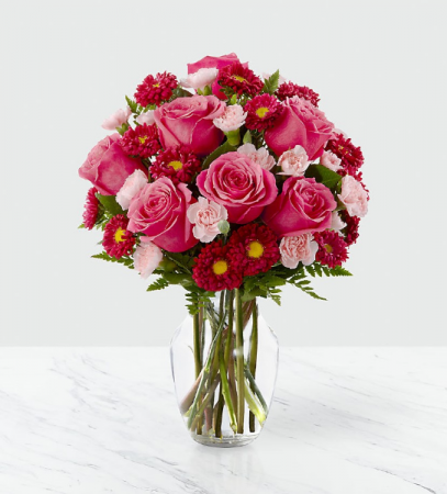 Precious Heart Vase Arrangement