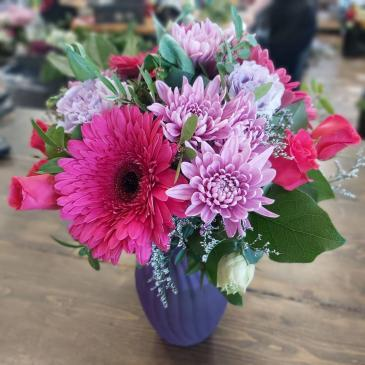 Precious Jewel Vased Arrangement