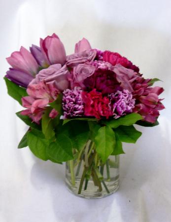 PRECIOUS JEWELL Roses, Carnations, Tulips Arrangement
