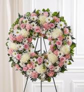 Precious Love Wreath Arrangement
