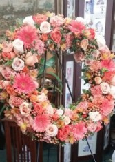 Precious Memories Standing Spray WREATH