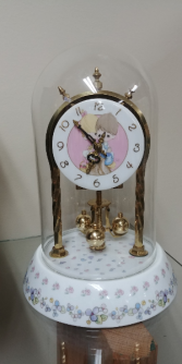 Precious Moments Anniversary Clock