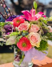 Precious Moments Classic Flower Arrangment