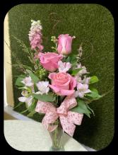 Precious Pastel Bud Vase