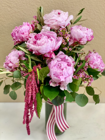 Precious Peonies Arrangement of Flowers