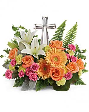 precious petals table arrangement in Berkley, MI | DYNASTY FLOWERS & GIFTS