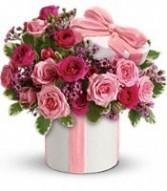 Precious Pink Bouquet Flower Arrangement