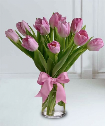 PRECIOUS PINK ELEGANT AND MIXTURE FLOWERS