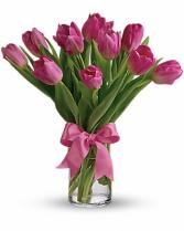Precious Pink Tulips T11Z106A 12