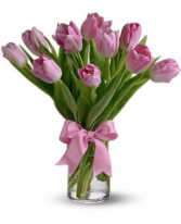 Precious Pink Tulips Tulips Only at Mom & Pop Flower Shop