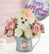 Precious Puppy Mother's Day Bouquet