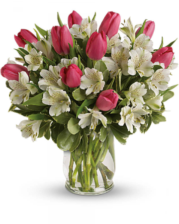 precious romance bouquet