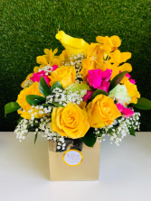 Precious Yellow Arrangement