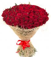 Premium 100 Roses Bouquet Roses