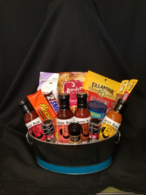 Smokin' Swine Premium BBQ Bundle Gift Basket in Portland, OR | Kern Park Flower Shoppe