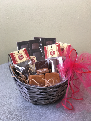 Premium Chocolate Basket  in La Grande, OR | FITZGERALD FLOWERS
