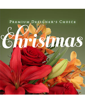Premium Christmas Bouquet Designer's Choice in Spokane, WA | FOUR SEASONS PLANT & FLOWER SHOP