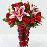 Premium Dozen Roses Vase